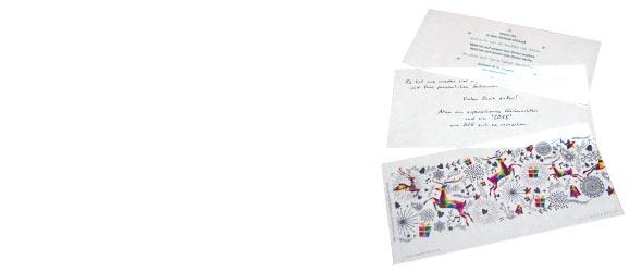 pressio » transparente einleger, flyer & aufkleber online, Einladung