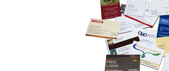 Pressio Visitenkarten Online Druckerei Kleinauflagen